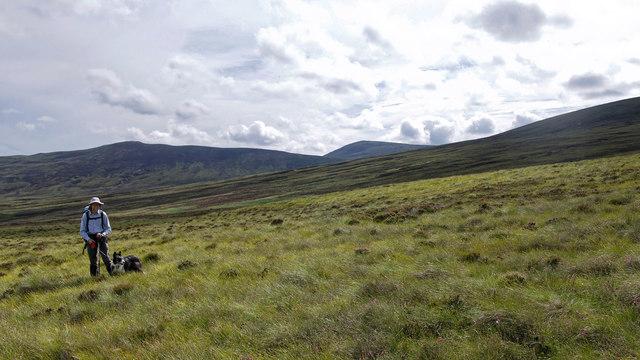 Hills behind Corrifearn