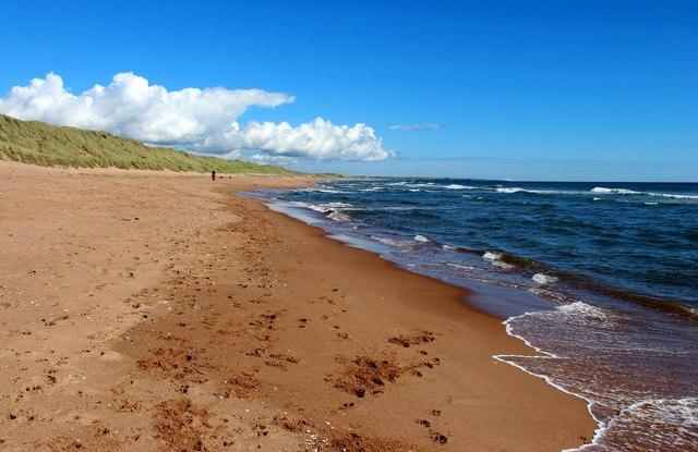 Balmedie Beach at Blairton Links