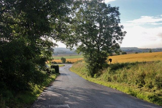 Public road at Overton