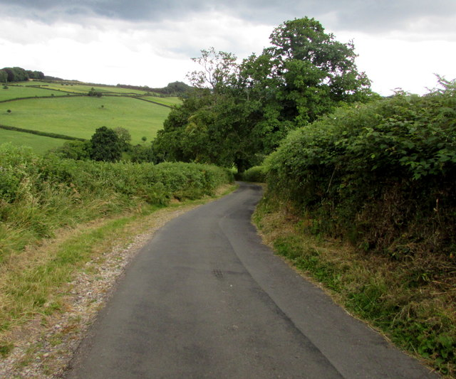 Road from English Bicknor towards Eastbach
