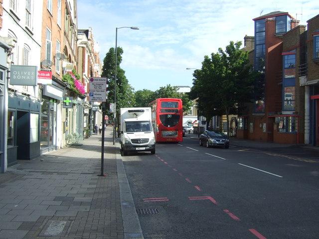 Upper Street, Islington, London N1