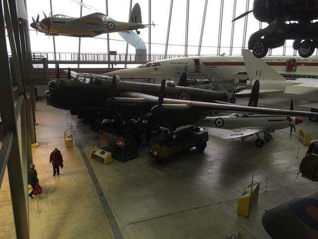Lancaster & Mosquito