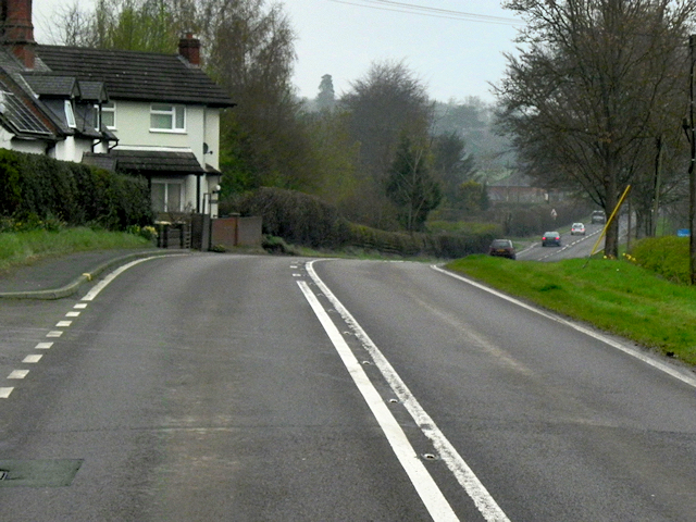Houses on the A483
