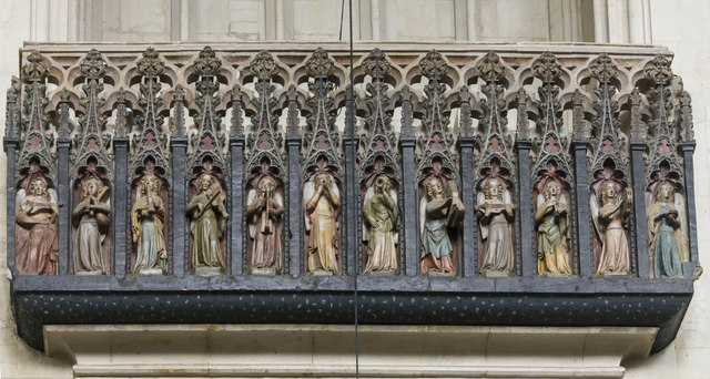 Minstrels' Gallery, Exeter Cathedral
