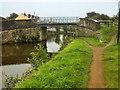 SD5607 : Leeds and Liverpool Canal, Martland Mill Bridge by David Dixon