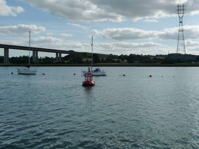 West navigation buoy, River Orwell