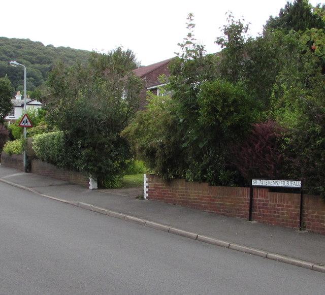 North side of Poplars Road, Mardy