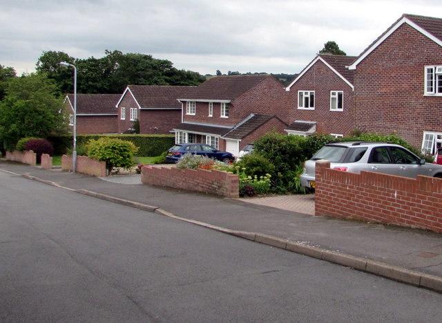 Brick houses, Poplars Road, Mardy