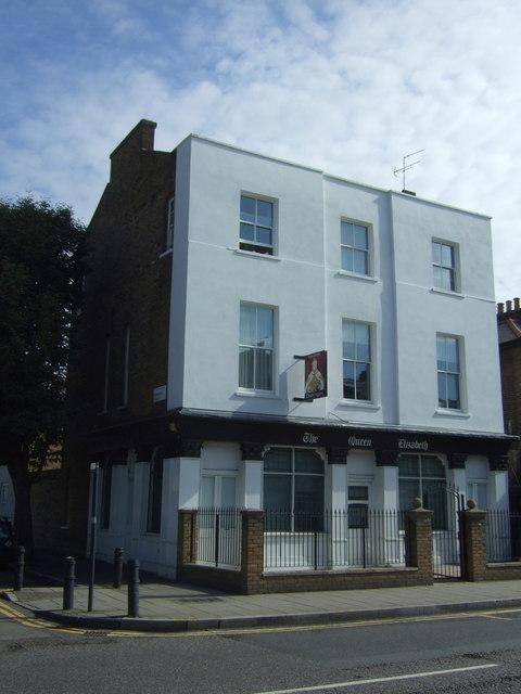 Former Queen Elizabeth public house, Dalston