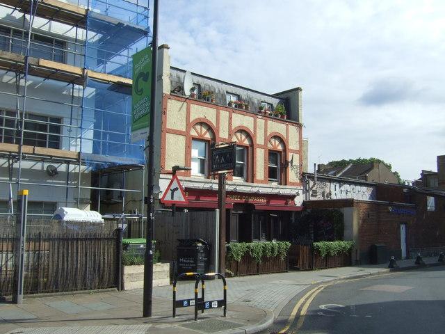The Three Compasses public house, Hackney