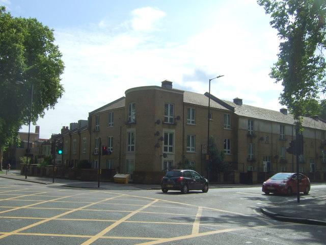 Flats on Lea Bridge Road, London E5