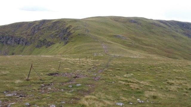Bealach above Coire an Duich