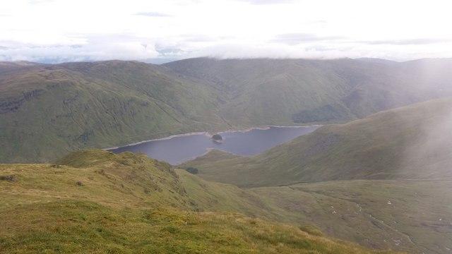 Summit view, Stuchd an Lochain