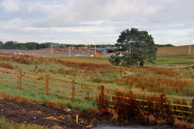 New Aberdeen bypass from Corsehill
