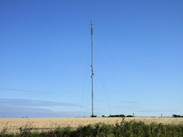 Forfar Transmitter at Harecairn
