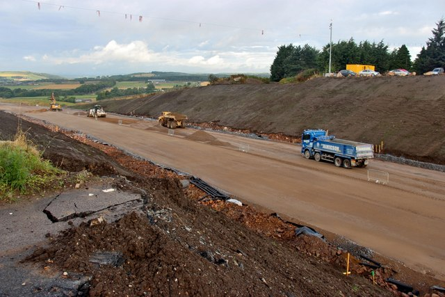 Progress on the Aberdeen Western Peripheral Route at Corsehill