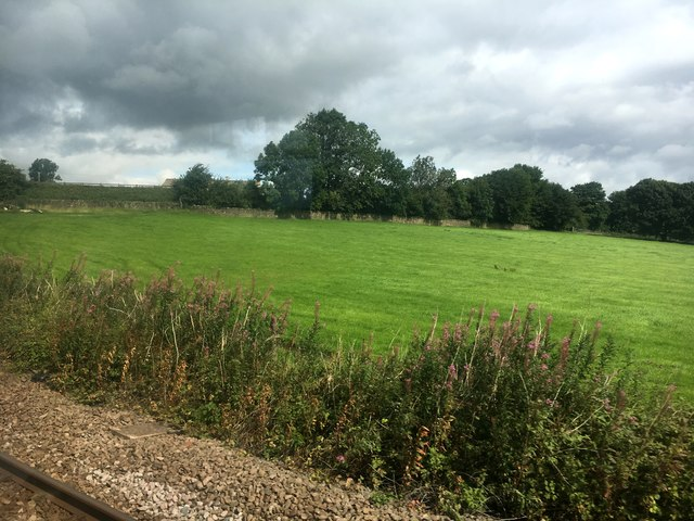 Farmland west of Skipton