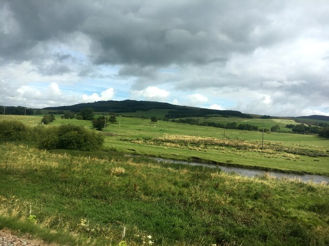 The Aire valley to the west of Skipton