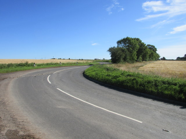 Bends on the B961