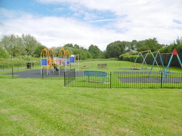 Rainford, play area