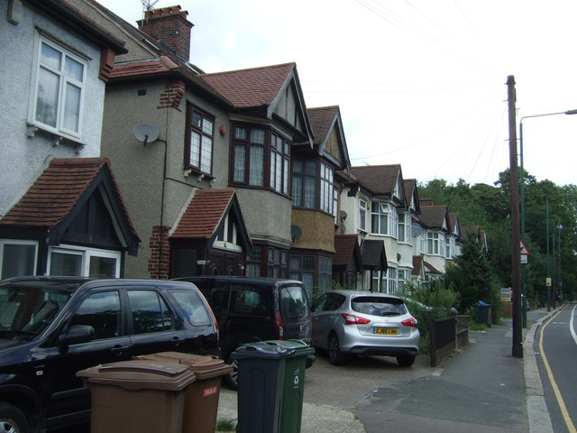 Houses on Woodford New Road (A104)