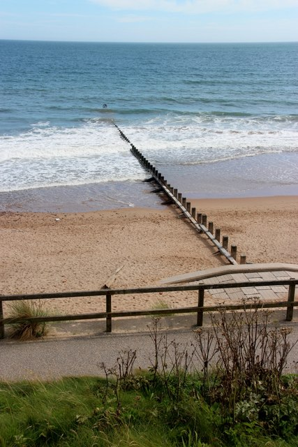 Groyne on Aberdeen Beach
