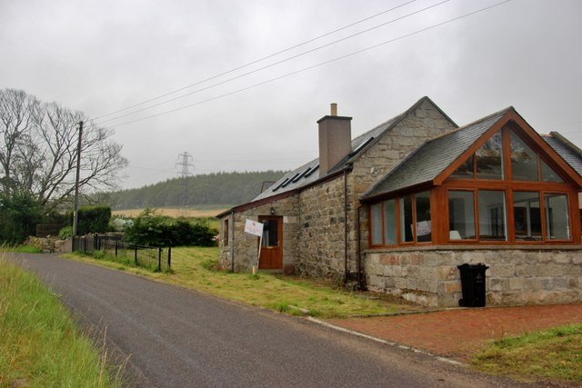Modernised cottage for sale at Little Bendauch