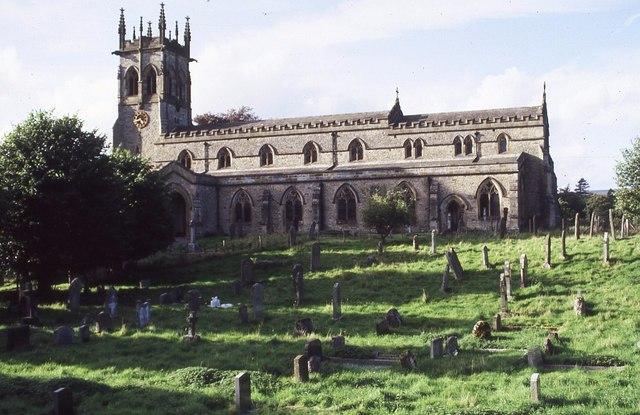 Aysgarth church