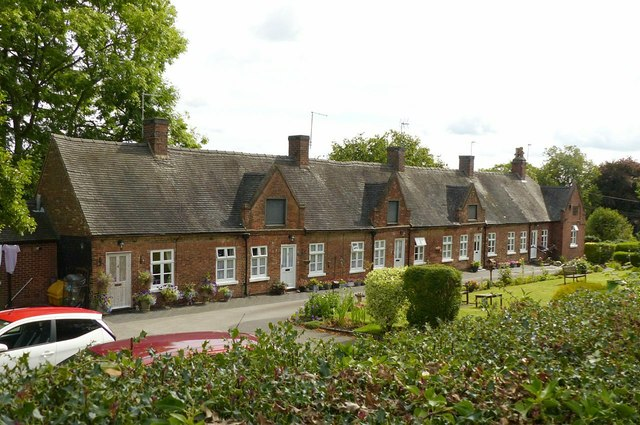 Middlemore's Almshouses, Stanton-by-Dale