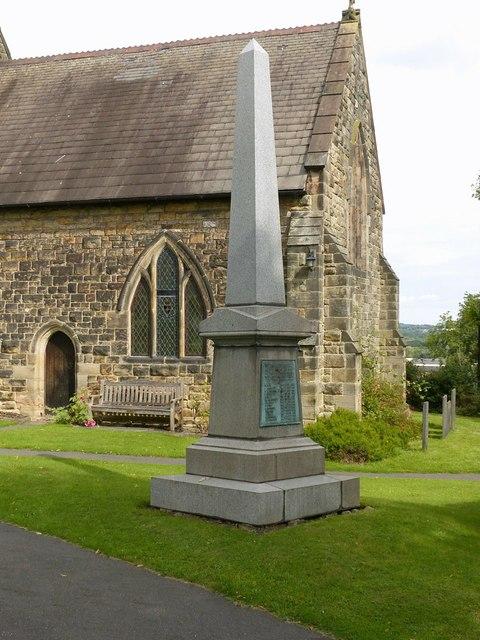 War Memorial, Stanton-by-Dale