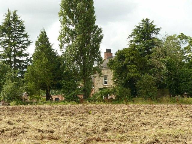 A glimpse of Grove Farmhouse