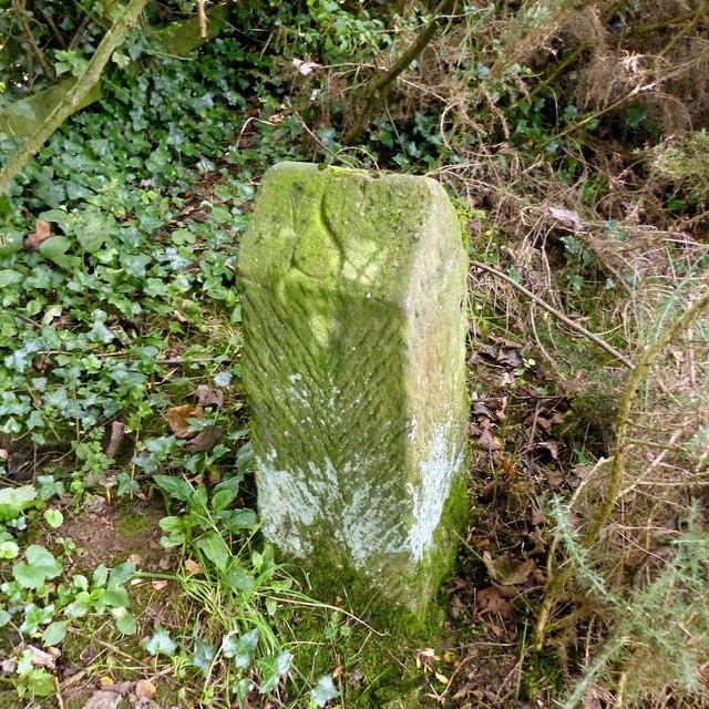 Boundary stone near Grove Farm – 1
