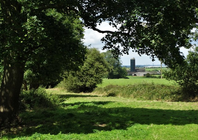 View towards Huntwick Grange Farm