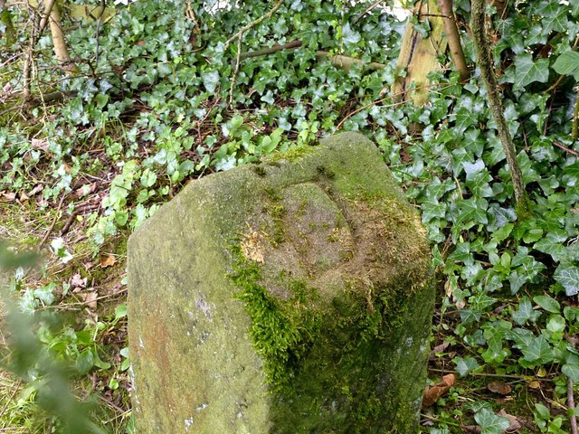 Boundary stone near Grove Farm – 2