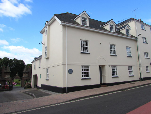 Site of former mineral water works, Glendower Street, Monmouth