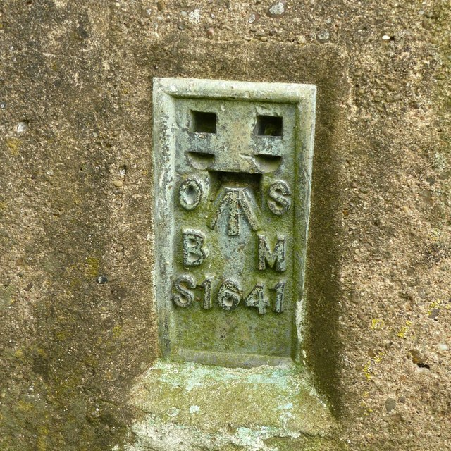 Flush bracket bench mark, Sandiacre trig point