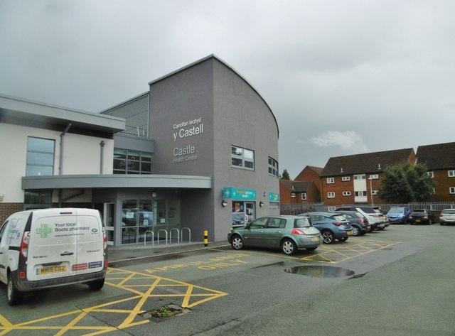 Chirk, health centre