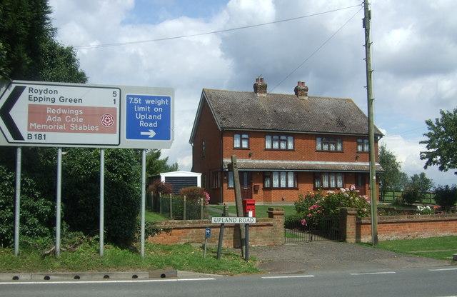 House on Upland Road, Epping Upland