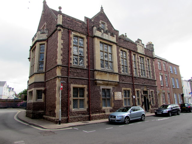 Grade II listed Nelson Rooms, Monmouth