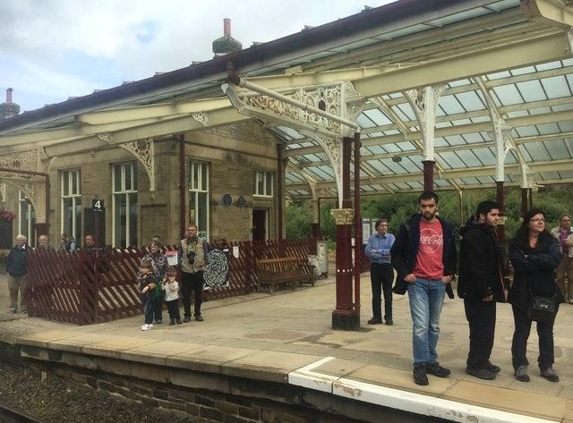 Platform 4, Hellifield railway station