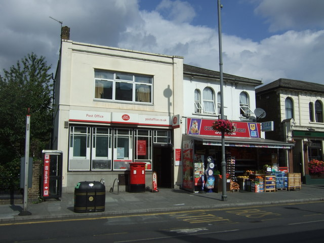 Post Office on Lea Bridge Road, London E10