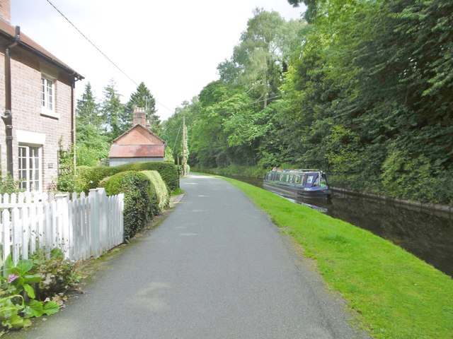 Chirk Bank, canal