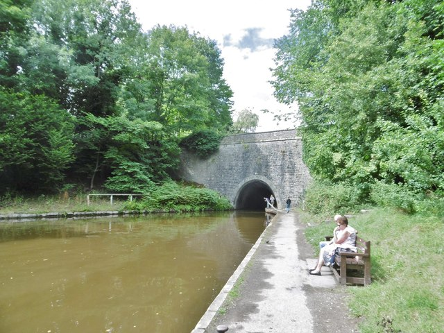 Chirk, tunnel entrance