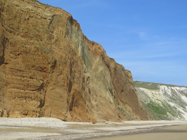 Red Cliff, Yaverland, Isle of Wight