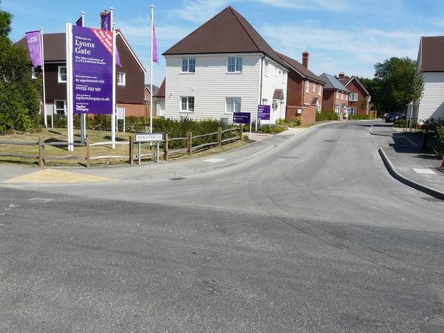 Entrance to Lyons Gate, Calleywell Lane