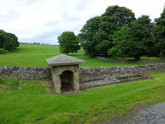 The well and trough at Timble