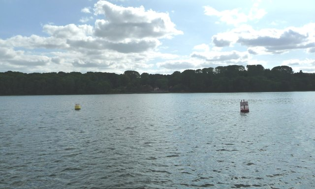 Deer Park navigation buoy, Downham Reach, River Orwell
