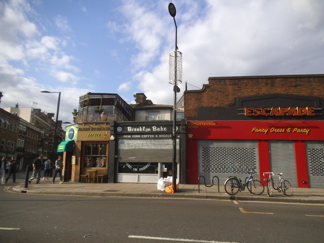 Shops on Chalk Farm Road