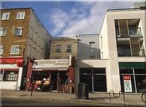 TQ2884 : Shops on Chalk Farm Road by David Howard