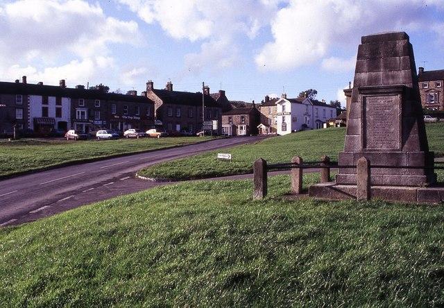 Reeth war memorial